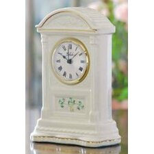 <strong>Belleek</strong> Shamrock Small Clock