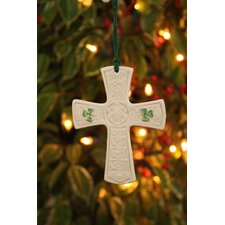 <strong>Belleek</strong> St. Patricks Cross Ornament