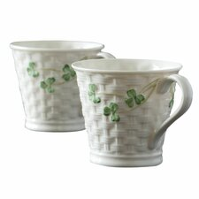 Shamrock Mug (Set of 2)