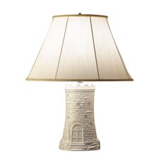 "Castle 21"" H Table Lamp with Empire Shade"