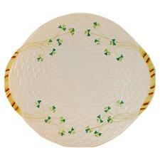 """Shamrock 11.25"""" Bread Plate"""