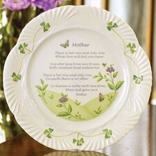 "9"" Mother's Blessing Plate"