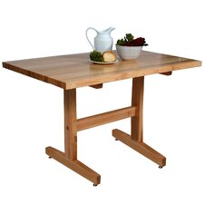 Trestle 3 Piece Dining Set