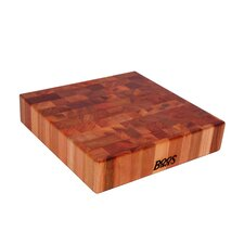"BoosBlock 14"" x 14"" Cherry Butcher Block Cutting Board"