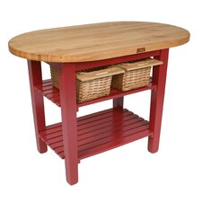Eliptical C-Table Kitchen Island