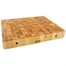 <strong>John Boos</strong> BoosBlock Rectangular Maple Butcher Block Cutting Board