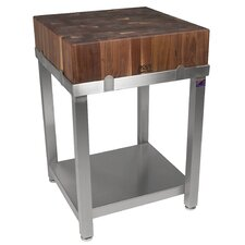 Cucina Americana LaForza Kitchen Island with Wood Top
