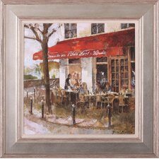 Café Saint Louis by Noemi Martin Framed Painting Print
