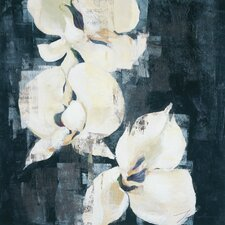 Shadow Orchids II by Liz Jardine Painting Print on Canvas