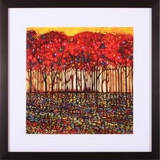 Intricate Nature Framed Artwork