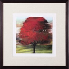 Flow Trees I Petite by Allison Pearce Framed Painting Print