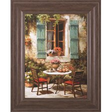 <strong>Art Effects</strong> Outdoor Café Framed Artwork