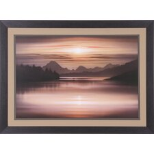 Oxbow Bend Framed Photographic Print