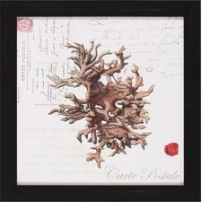 <strong>Art Effects</strong> Small Romance du Mer III Framed Artwork