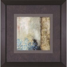 Teal Patina III by Jennifer Goldberger Framed Painting Print