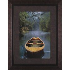 The Old Lake by Carlos Casamayor Framed Painting Print