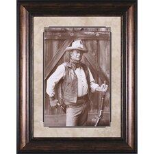 John Wayne by Bob Willoughby Framed Photographic Print