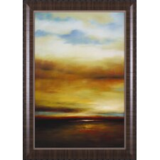 Sound of The Waves I by Paul Bell Framed Painting Print
