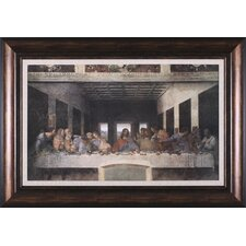 <strong>Art Effects</strong> The Last Supper, 1498 Framed Artwork