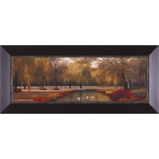 Weeping Willow Panel by Diane Romanello Framed Painting Print