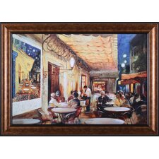 <strong>Art Effects</strong> Café Van Gogh Framed Artwork