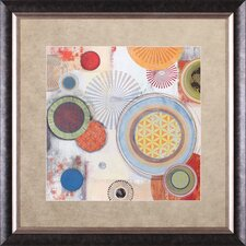 Motions II by Tom Reeves Framed Painting Print