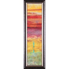 The Four Seasons: Summer by Erin Galvez Framed Painting Print