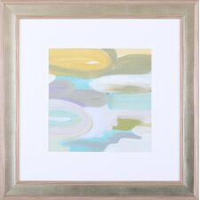 'Silk Gem I' by Cat Tesla Framed Painting Print