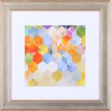 'Cubitz II' by Noah Li-Leger Framed Graphic Art