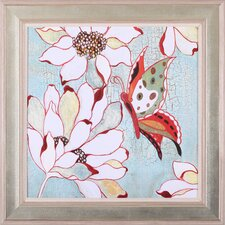 'Vintage Butterfly I' by Lee Speedwell Framed Painting Print