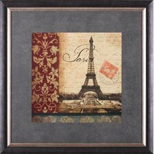 <strong>Art Effects</strong> ''Vue Historique - Tour Eiffel'' Wall Art