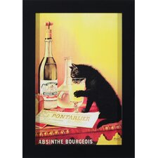 Absinthe Bourgeois Wall Art
