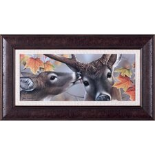 First Kiss by Jerry Gadamus Framed Painting Print