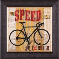 Full Speed Ahead Wall Art