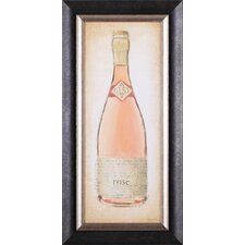 <strong>Art Effects</strong> Sparkling Rose Bottle Wall Art