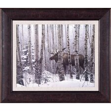 A Walk In The Woods by Stephen Lyman Framed Painting Print