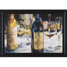 Bordeaux and Muscat Wall Art