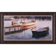 Barques Al Port Wall Art