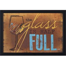 Half Full by Marla Rae Framed Graphic Art