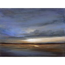Salt Flats by Sheila Finch Painting Print on Canvas