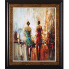 Saturday Night by E. Jarvis Framed Painting Print