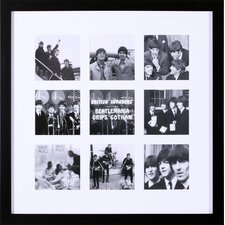 Beatlemania Grips Gotham by British Pathe Framed Photographic Print