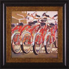 <strong>Art Effects</strong> Retro Bikes Wall Art