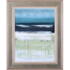 Sea and Sky II by Heather McAlpine Framed Painting Print