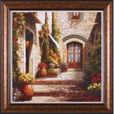<strong>Art Effects</strong> Sunlit Courtyard Wall Art