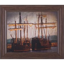 Tall Ships by Danny Head Framed Painting Print