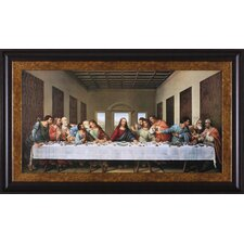 The Last Supper by Leonardo da Vinci Framed Painting Print