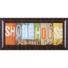 <strong>Art Effects</strong> Shore House Wall Art