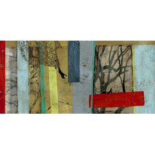 Woven Landscape II by Jennifer Goldberger  Painting Print on Canvas