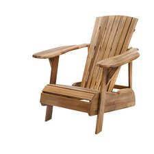 Pure Garden Summerville Chair in Natural